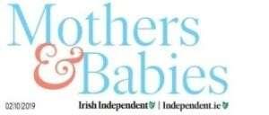 Mothers & Babies Magazine logo: Irish Independent newspaper
