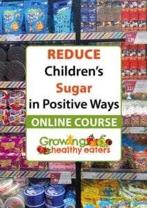Online course: Reduce Children sugar in positive ways