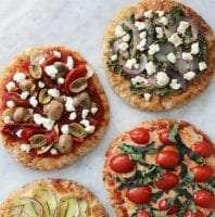 homemade healthy mini pizzas